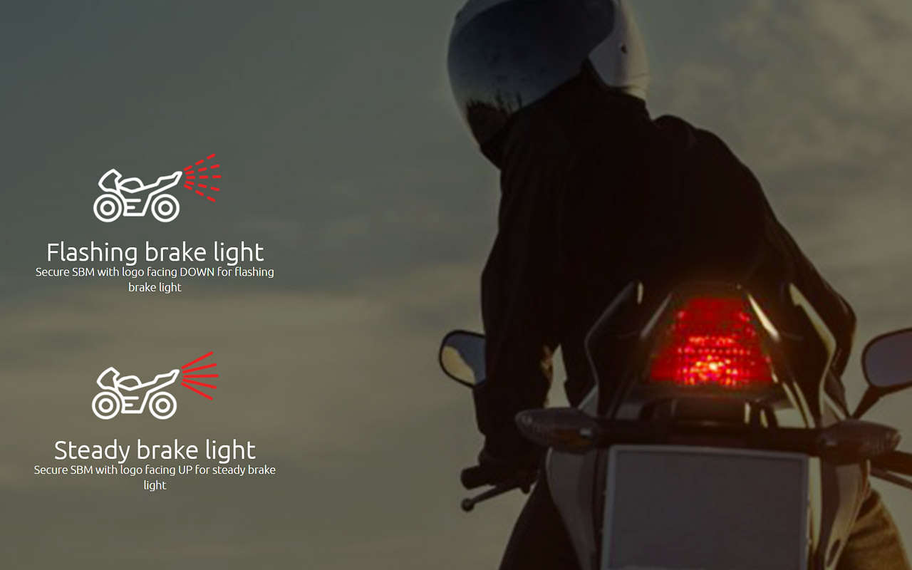Nyc Motorcyclist Serving The New York City Motorcycling Community Wiring Additional Brake Lights Sts Light Module Approx 2x1x1 Under Seat You Have About 21 Inches Of Loom Which Allows Some Leeway For To Find A Completely